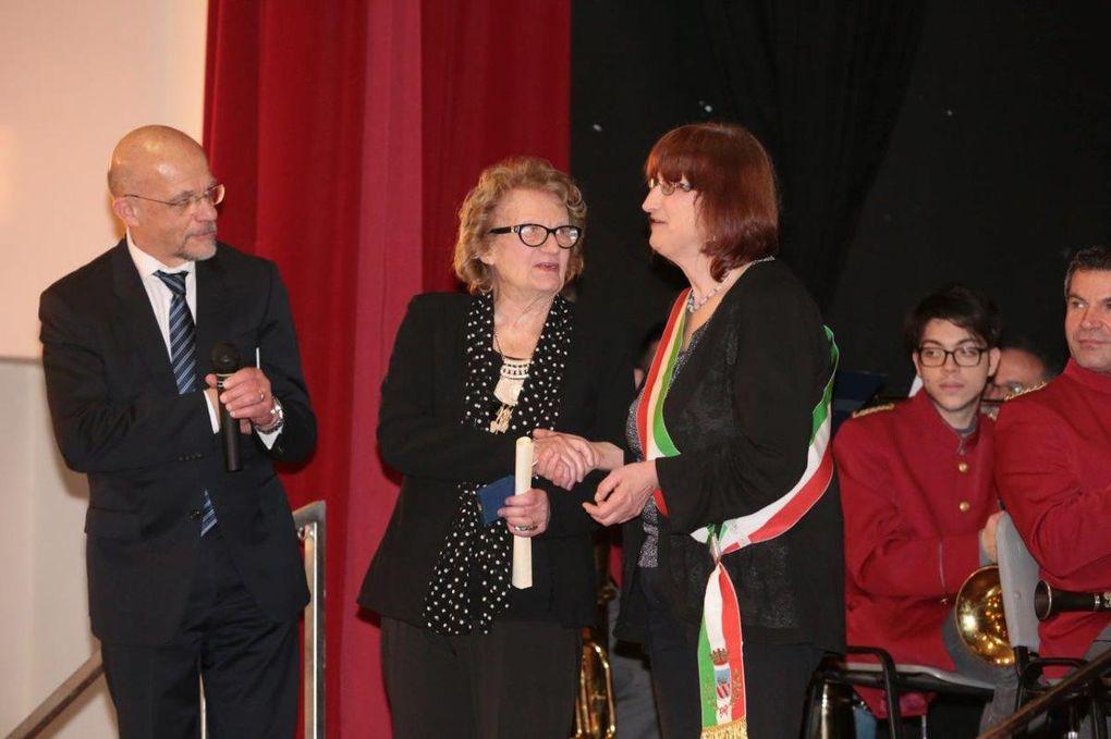 alcuni momenti della cerimonia di premiazione