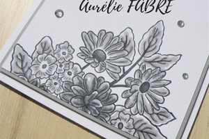 Black, White & Grey Card Making Challenge