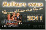 Bonne année 2011 ...