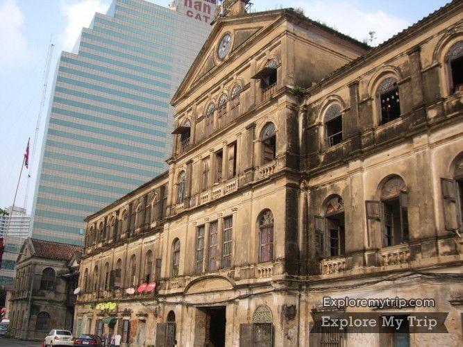 L'ancienne Maison des Douanes à Bangkok