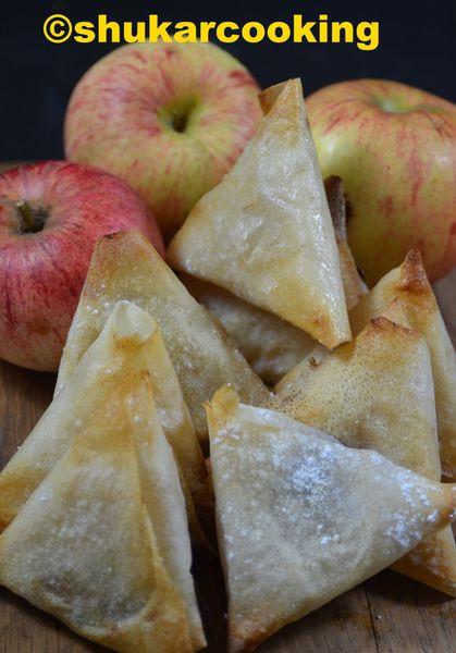 Samossas aux pommes