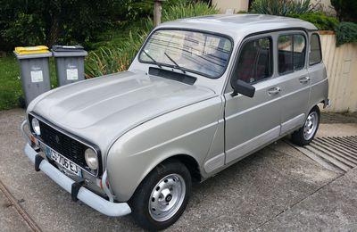 Restauration de ma Renault 4L de 1984