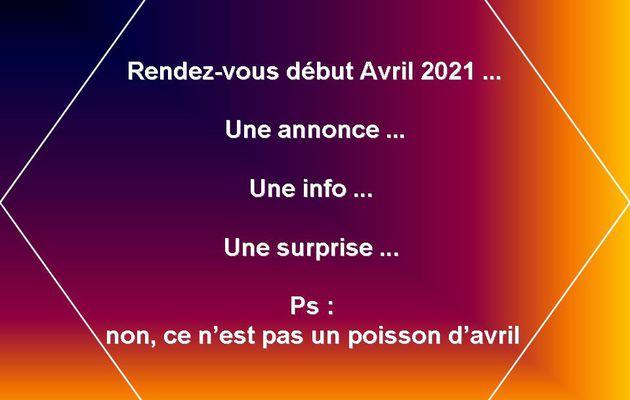 Rendez-vous Avril 2021