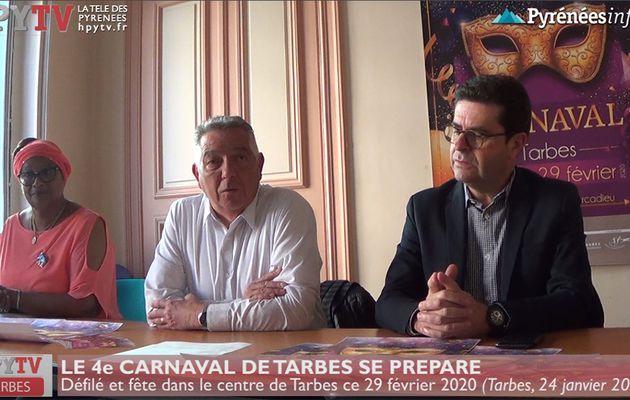 Le 4e Carnaval de Tarbes se prépare pour samedi (24 fév 20) | La Télé de Tarbes