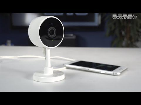 Une petite caméra de surveillance facile à configurer