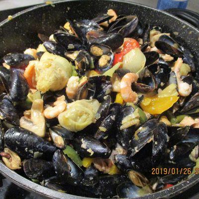 Fruits de Mer au Safran