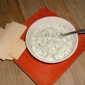 Fromage ail et fines herbes home made