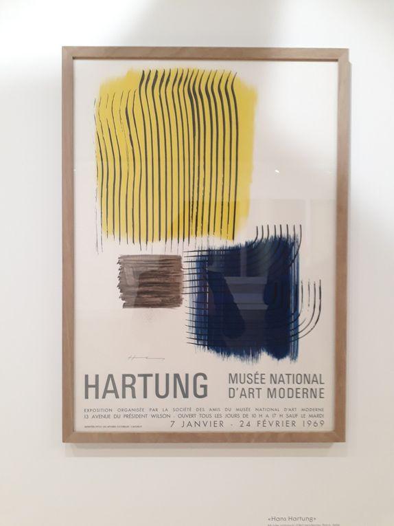 Rétrospective Hans Hartung au musée d'Art moderne de Paris