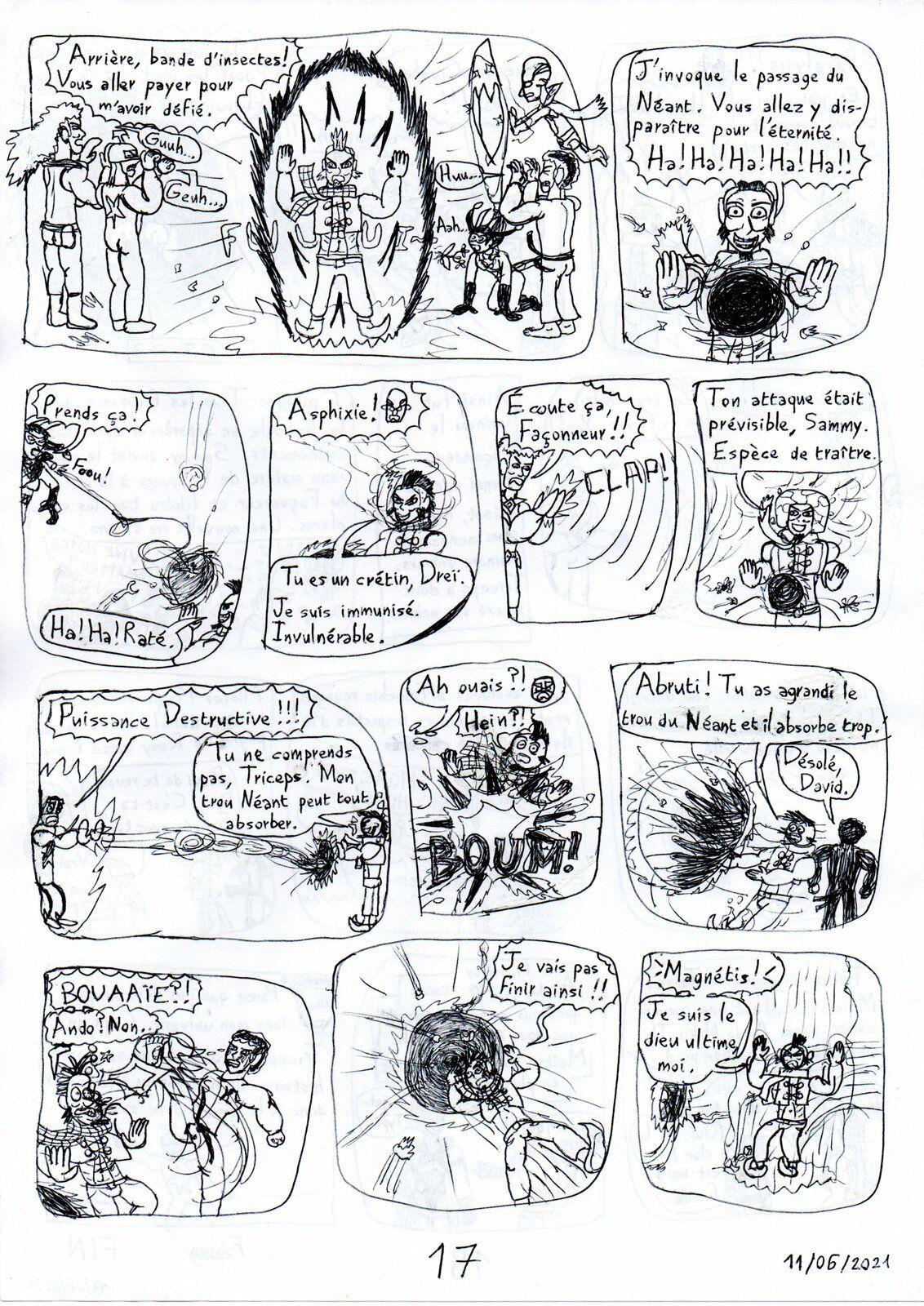 Captain Triceps spécial 4: Le Façonneur