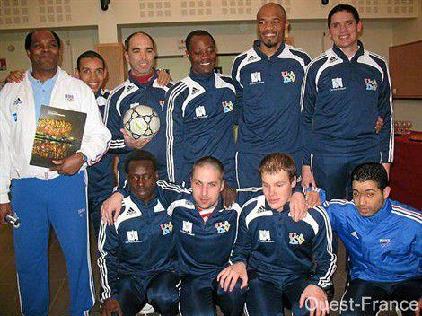 Foot : Champions d'Europe à Nantes, ils visent la Coupe du Monde