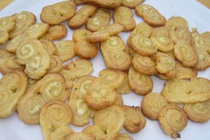 Palmiers au fromage Ail & Fines herbes