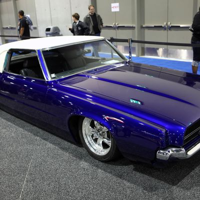 Classic Cars at San Diego Auto Show 2009 170652 20090103