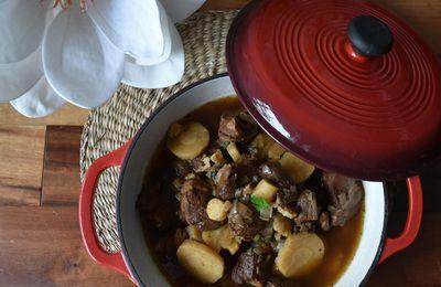 Sauté de porc au cidre et panais