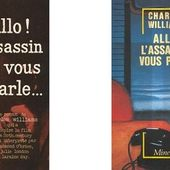 Charles Williams : Allô ! L'assassin vous parle (1958) - Le blog de Claude LE NOCHER