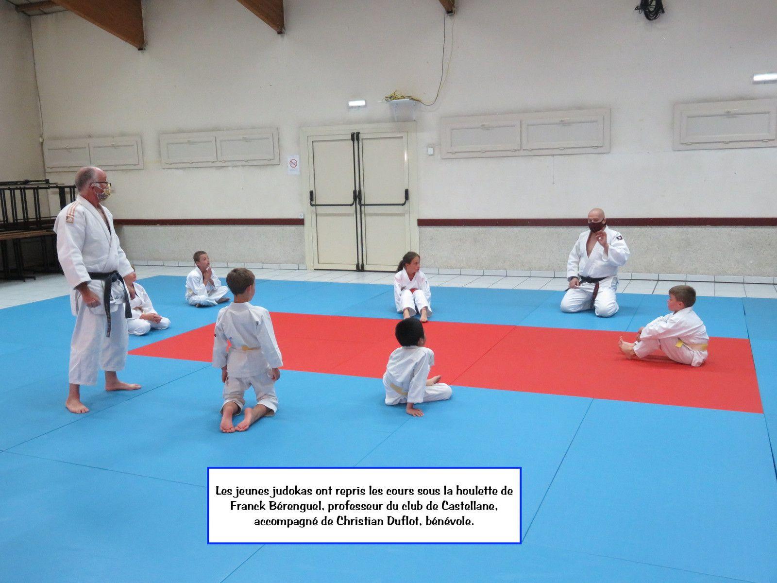 Saint André les Alpes: Le club de judo a rouvert ses portes