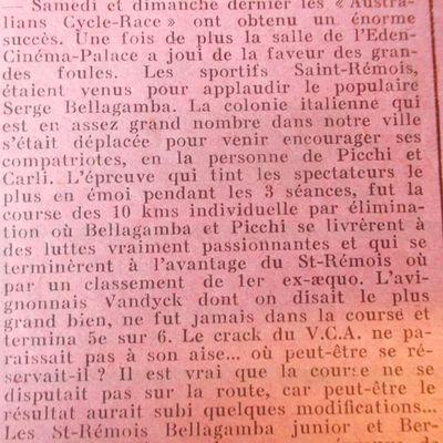 La Gazette Sportive du 2 février 1930
