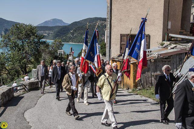 70 éme anniversaire du 11 juin 1944 , St Julien du Verdon