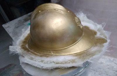 Fabrication de casques pour spectacle historique de Meaux