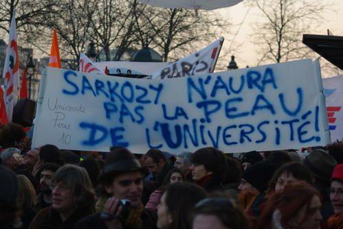 L'Université française entame sa 5e semaine de grève le 2 mars