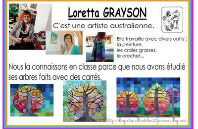 à la manière de Loretta GRAYSON