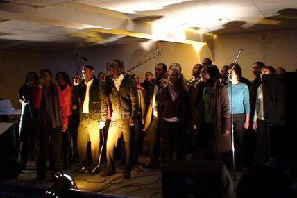 """Participation à la soirée """"Chantons pour Haïti"""""""