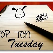 Top Ten Tuesday - 23 - Lectures ambiance Halloween