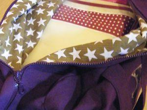 THE Purple Maternity Bag