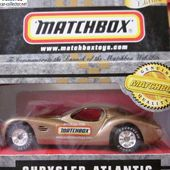 CHRYSLER ATLANTIC COMMEMORATION SITE WEB MATCHBOX SPECIAL EDITION - car-collector.net