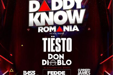 Tiësto photos | Don't Let Daddy Know | Bucharest, Romania - December 15, 2018