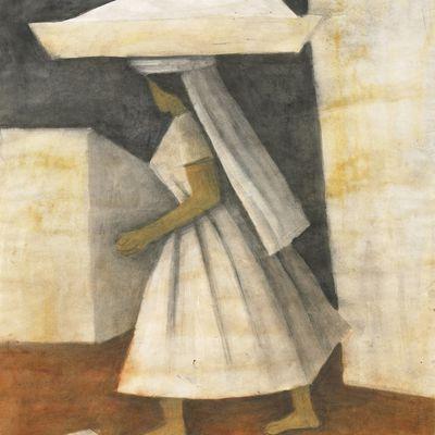 Rufino Tamayo - Mujer - 1955