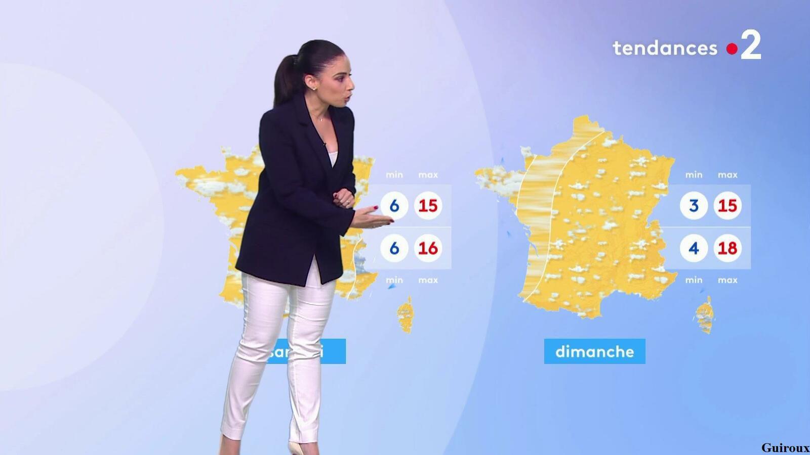 Virginie Hilssone-Lévy 12/10/2021 Journaux météo du soir