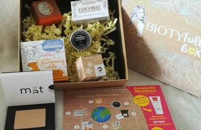 Ma Biotifullbox d'octobre 2019