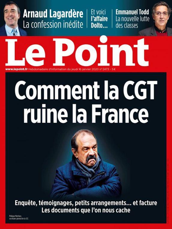 Comment « Le Point » [ainsi que toute la presse bourgeoise] ruine le journalisme