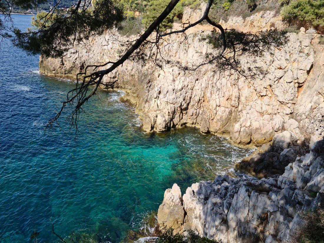 Saint-Jean-Cap Ferrat, sentier du littoral