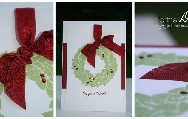Carte Couronne de l'Avent (Wonderful Wreath), Noël 2013