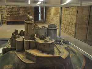 Maquette du château.  (clic sur les photos pour les agrandir)