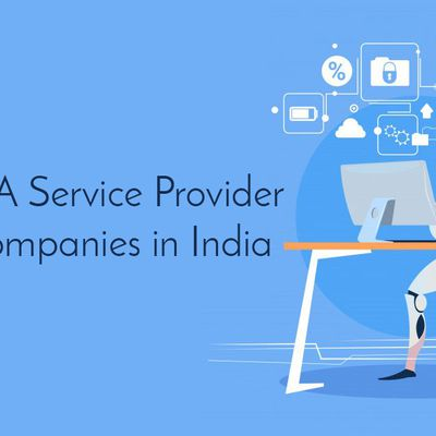Top 10 RPA Service Provider Startup Companies in India