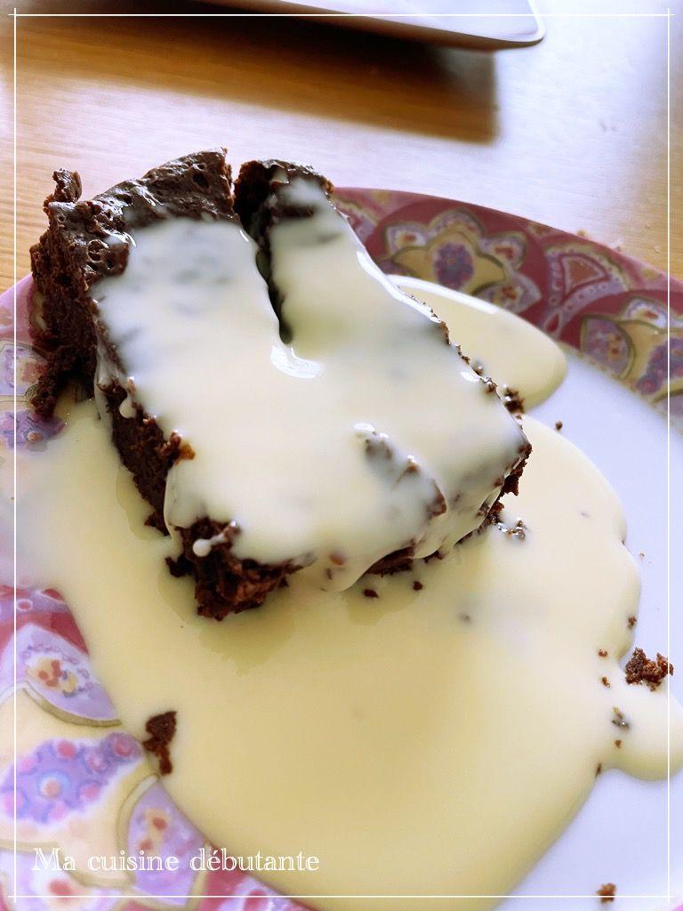 Fondant au chocolat avec le cake factory