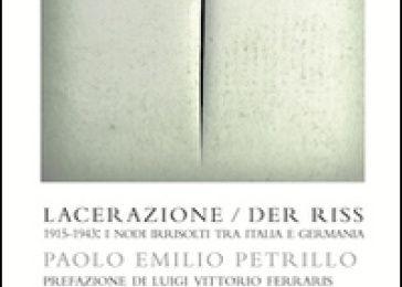"""Paolo Petrillo, """"Der Riss"""""""