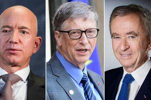 La fortune des plus riches du monde a augmenté d'un quart en 2019!Pendant qu'ils appauvrissent le peuple d'en bas jusqu'à l'intolérable,  pour eux c'est de mieux en mieux !