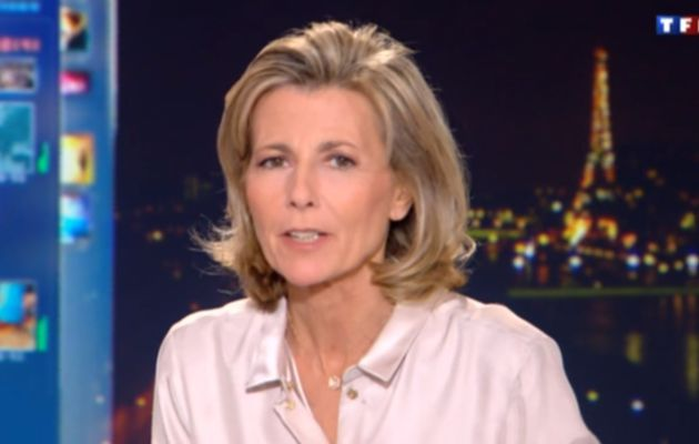2013 02 08 - CLAIRE CHAZAL - TF1 - LE 20H @20H00