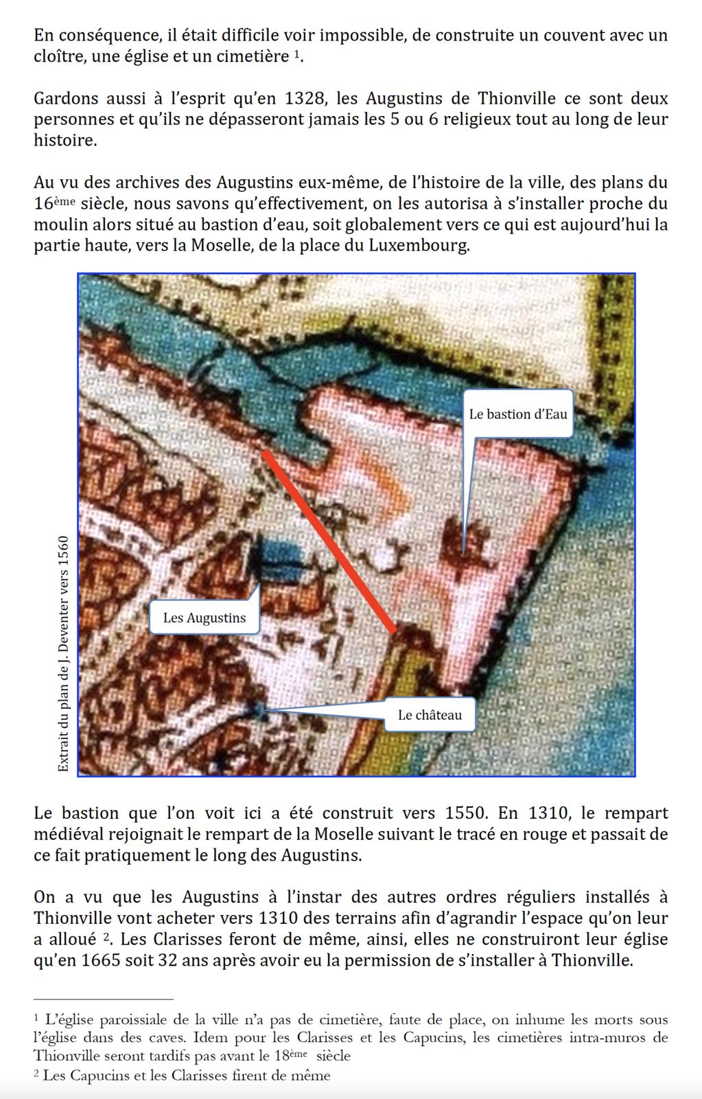 Les Augustins à Thionville de 1308 à 1558 (1/2)