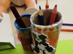 Pot à crayon pour la rentrée
