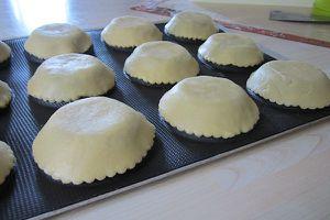 La cuisson à blanc des tartelettes