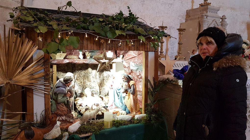 Montsaunès. La crèche à découvrir dans l'église templière