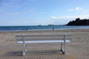 BANCS (3) :      Face à la Mer...
