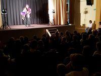 Spectacle de ventriloque offert aux enfants par l'Amicale laïque