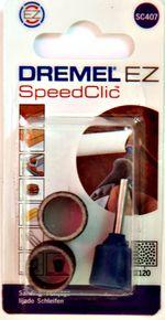 Dremel EZ SC407 - Mandrin + 2 bandes de ponçage