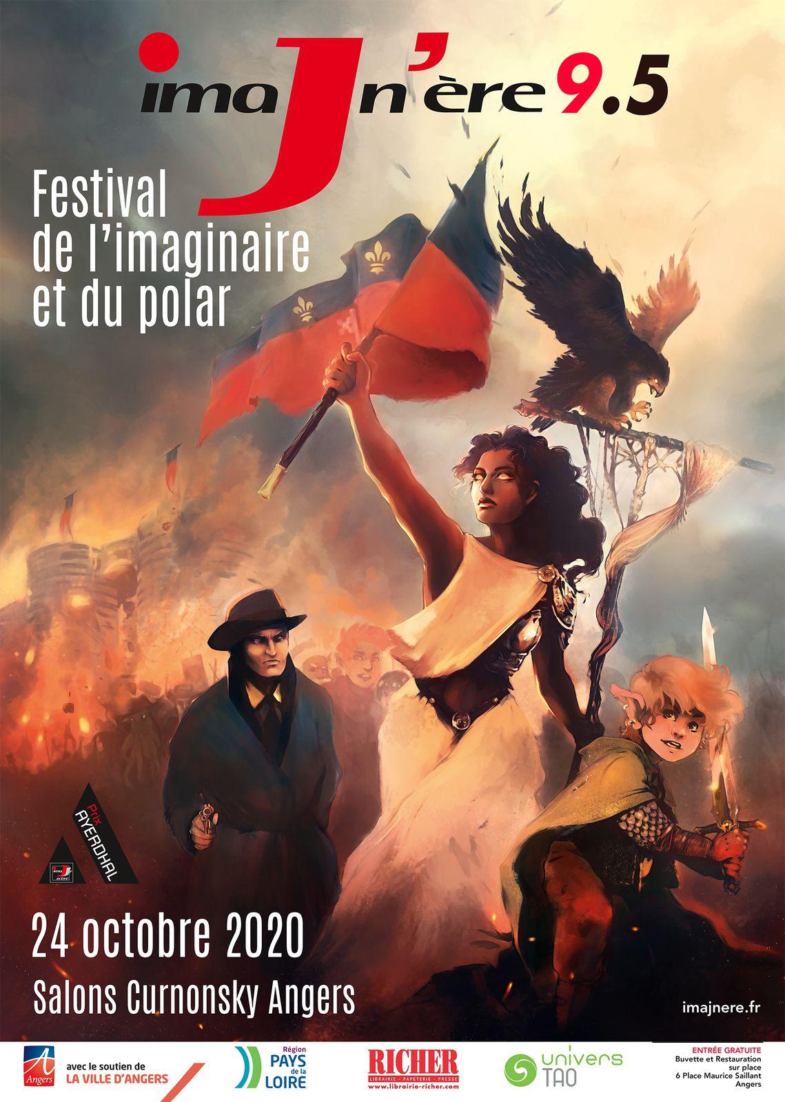 Festival de l'Imaginaire et du Polar samedi 24 à Angers