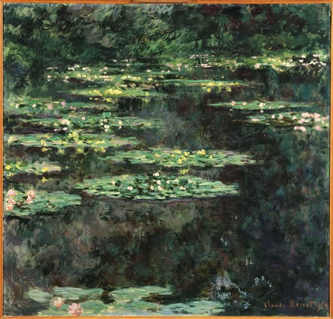 Claude  Monet (1840 -1926)- les Nymphéas
